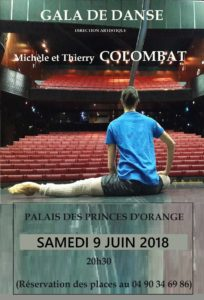 Gala Danse 2018 Michèle et Thierry Colombat à Orange