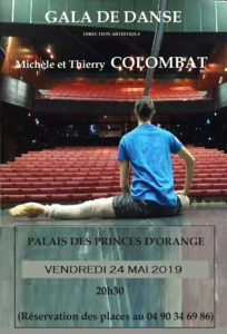 Gala Danse 2019 Michèle et Thierry Colombat à Orange
