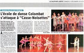 Spectacle Danse 2019 Casse-Noisette de Michèle et Thierry Colombat à Orange